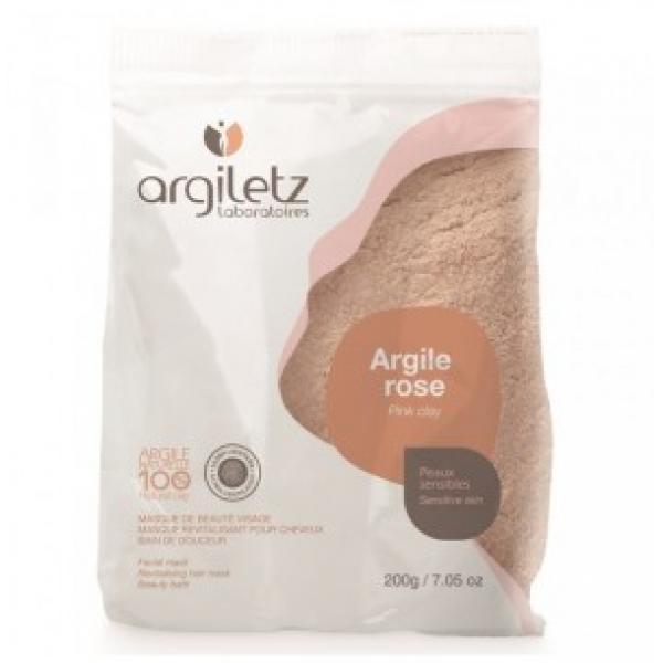 Argile Rose- Poudre 200g