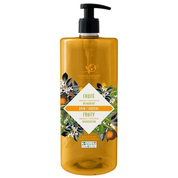 Bain Douche Fruité Mandarine Orange Laboratoire Gravier-Cosmo Naturel