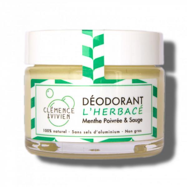 Baume Déodorant aux huiles essentielles L'Herbacé-Clémence et Vivien