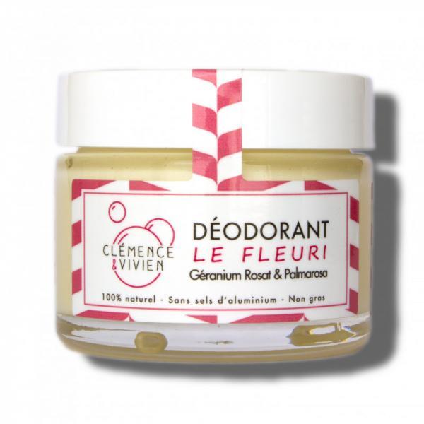 Baume Déodorant aux huiles essentielles Le Fleuri-Clémence et Vivien