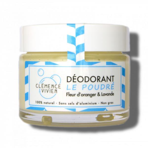 Baume déodorant naturel aux huiles essentielle Le Poudré - Clémence et Vivien