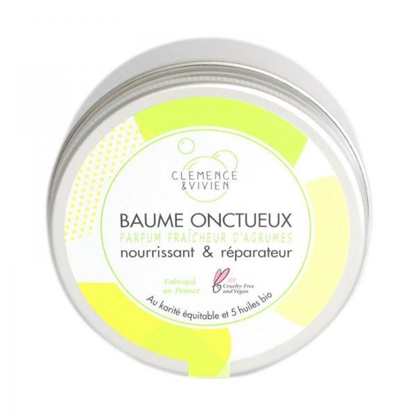Baume Onctueux Fraîcheur d'Agrumes Nourrissant et Réparateur-Clémence et Vivien