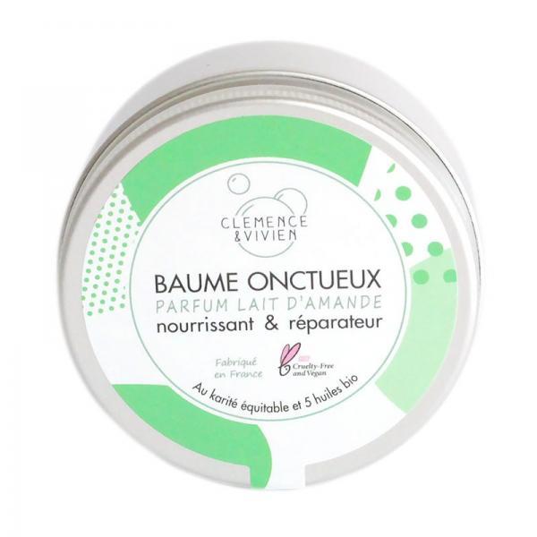 Baume Onctueux Parfum Lait d'Amande Nourrissant et Réparateur-Clémence et Vivien