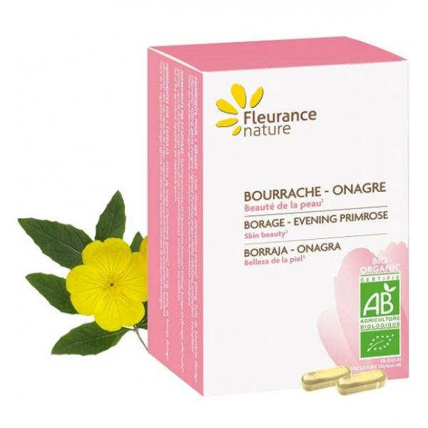 Bourrache - Onagre BIO - Fleurance Nature