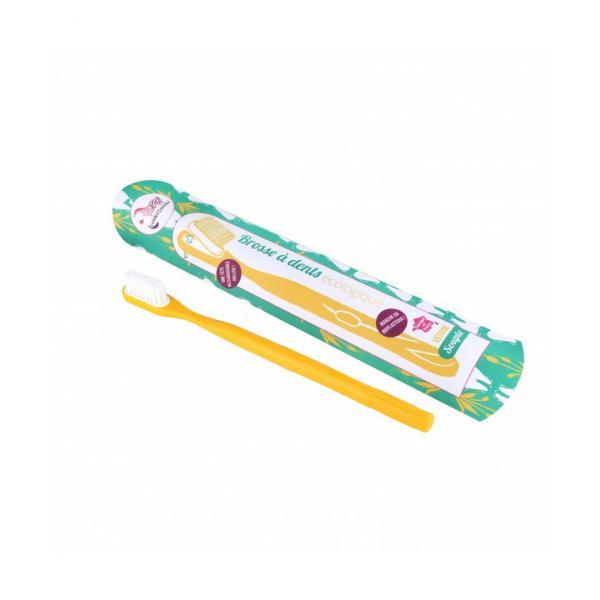 Brosse à dents Médium rechargeable Ecologique Végane Fabriqué en France-Lamazuna
