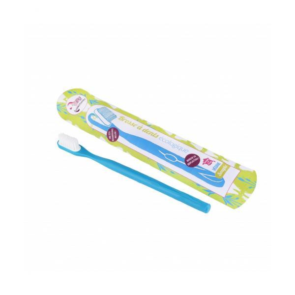 Brosse à dents Souple rechargeable Ecologique Végane Fabriqué en France-Lamazuna