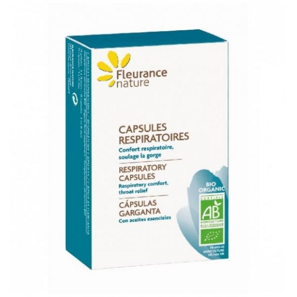 Capsules respiratoires Bio - Fleurance Nature