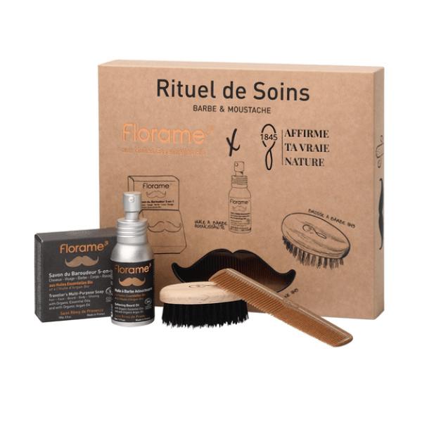 Coffret Rituel de Soins barbe & moustache
