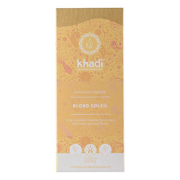 Coloration capillaire végétale Blond Soleil - Khadi