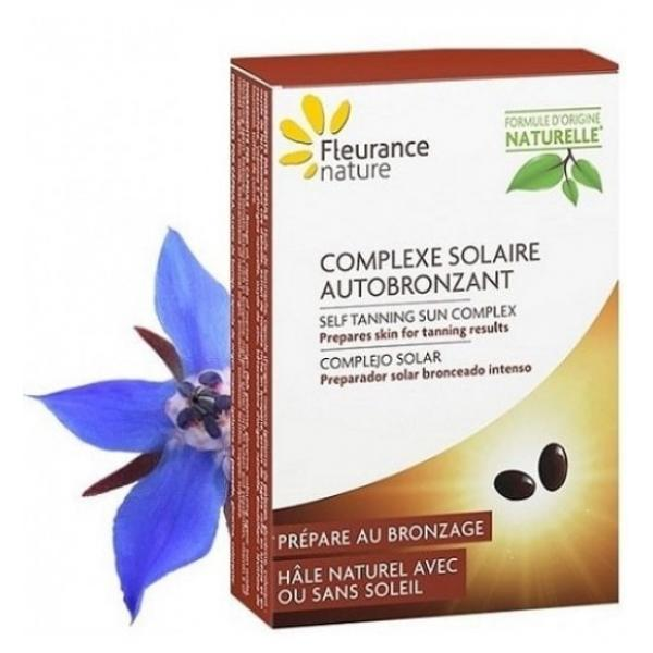 Complexe solaire autobronzant - Fleurance Nature