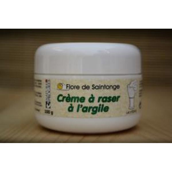 Crème à Raser à l'Argile (Blaireau)-Flore de Saintonge