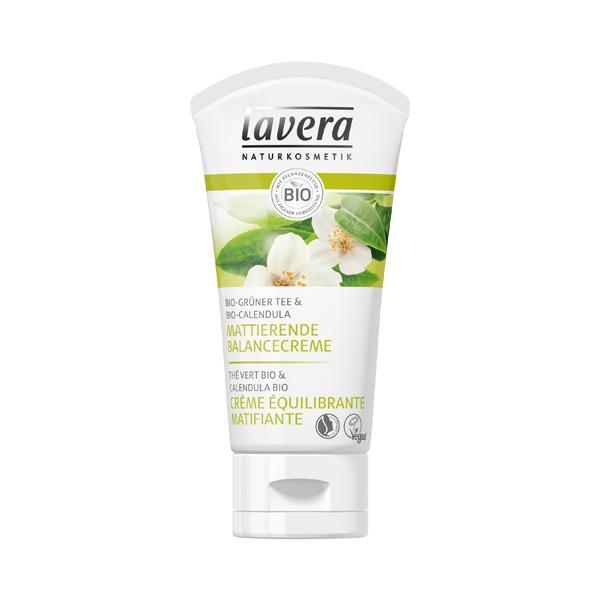 Crème Equilibrante Matifiante Thé vert Calendula-Lavera