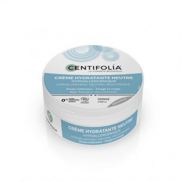 Crème hydratante neutre hypoallergénique bio - Centifolia