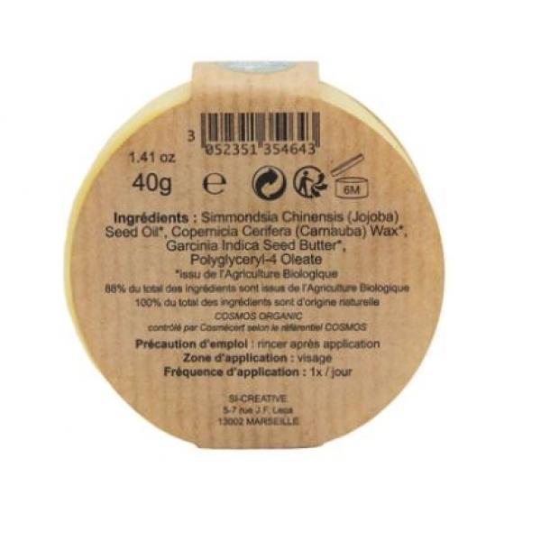 Démaquillant naturel solide bio à l'huile de jojoba - Comme Avant
