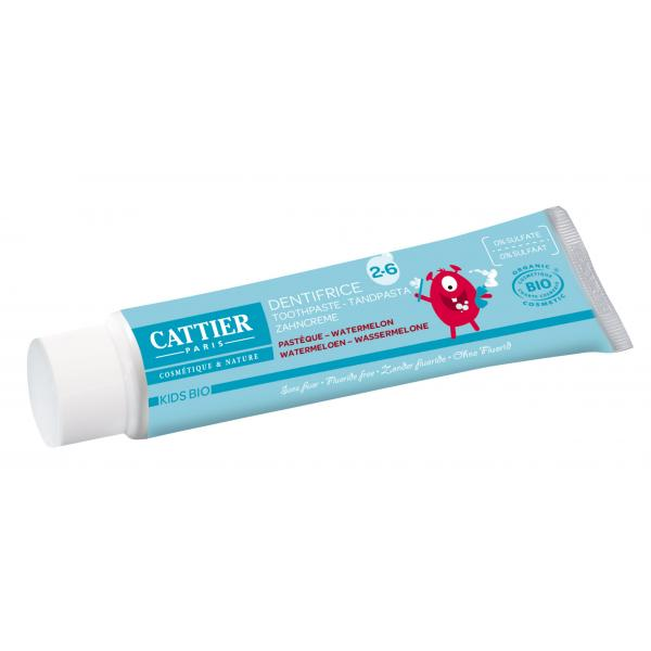 Dentifrice 2 - 6 ans goût pastèque - Cattier