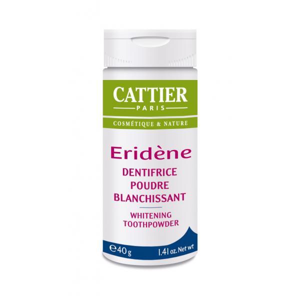 Dentifrice poudre blanchissante Eridène - Cattier