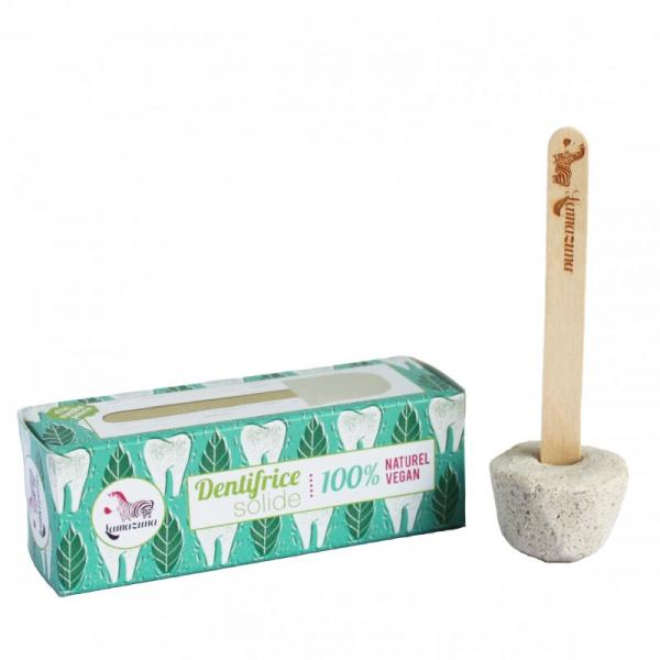 Dentifrice Solide à la menthe poivrée 100% naturel et Vegan-Lamazuna