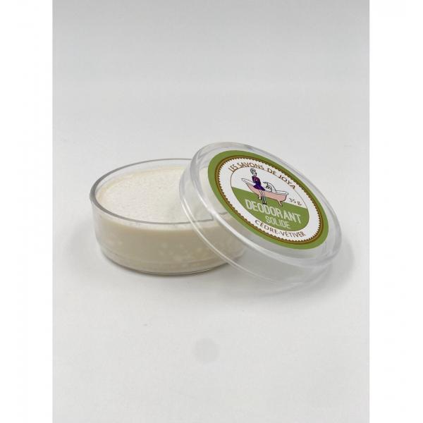 Déodorant boite cèdre vétiver et sa recharge - Les Savons de Joya