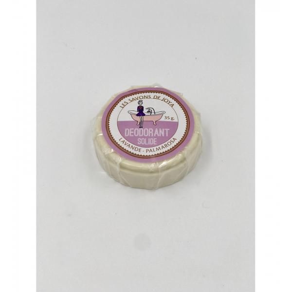 Déodorant boite lavande palmarosa et sa recharge - Les Savons de Joya