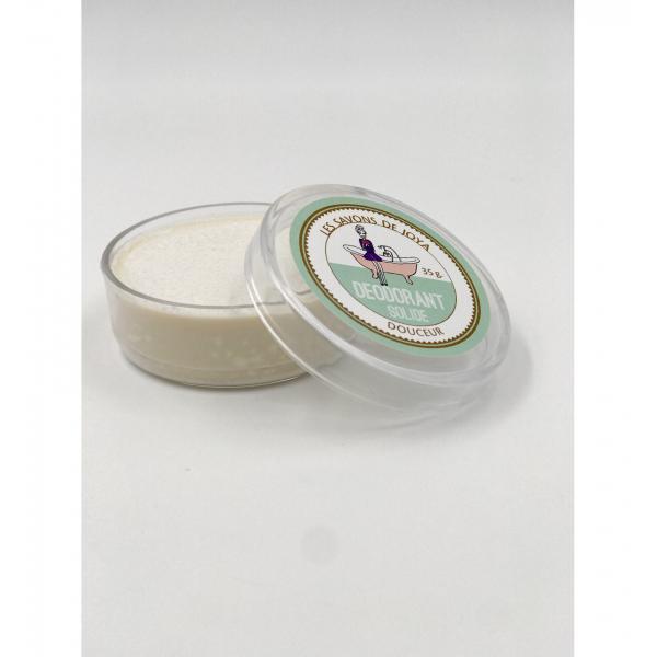 Déodorant boite sans bicarbonate ni HE et sa recharge - Les Savons de Joya