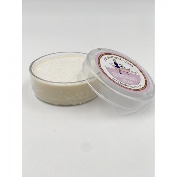 Déodorant boite sans huiles essentielles et sa recharge - Les Savons de Joya