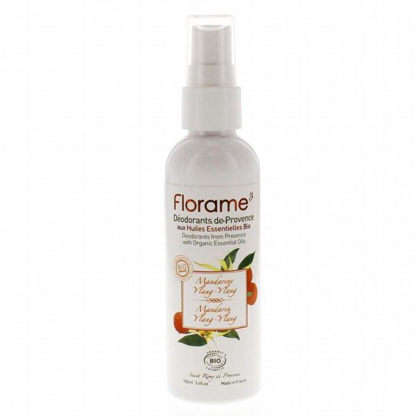 Déodorant Brume Bio Mandarine Ylang ylang -Florame