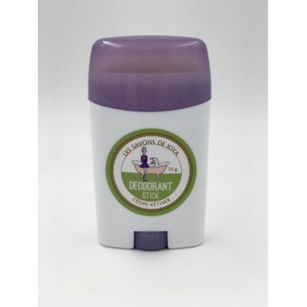 Déodorant stick et sa recharge - Cèdre Vétiver - Les Savons de Joya