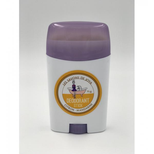 Déodorant stick et sa recharge - Citron Mandarine - Les Savons de Joya