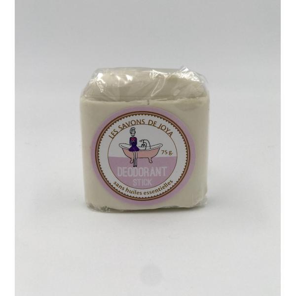 Déodorant stick et sa recharge sans huiles essentielles - Les Savons de Joya