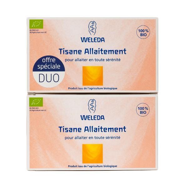 Duo Tisane Allaitement-Weleda