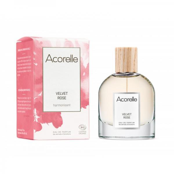 Eau de Parfum bio Velvet Rose - Acorelle