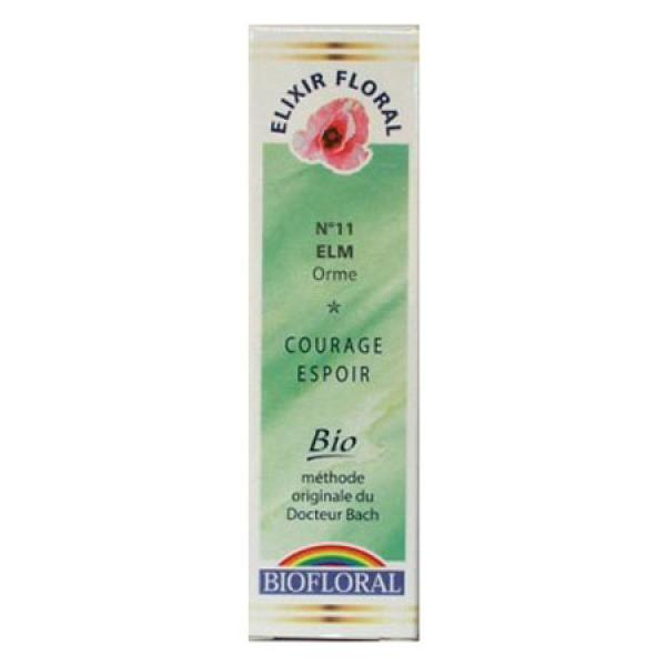 Fleur de Bach n°11 Elm/Orme-Biofloral