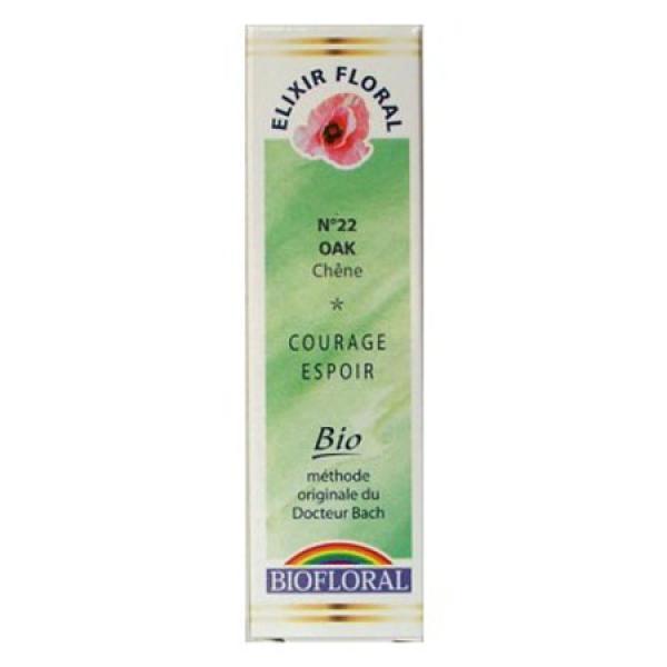 Fleur de Bach n°22 Oak/Chêne-Biofloral