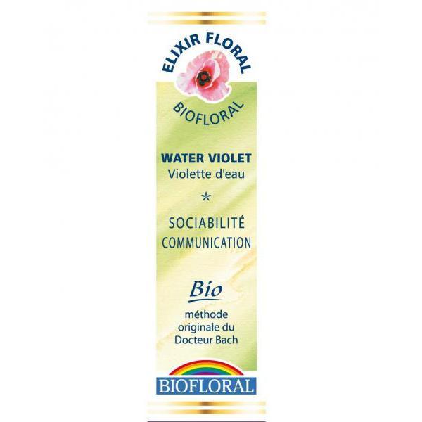 Fleur de Bach n°34 Water Violet/Violette d'Eau-Biofloral