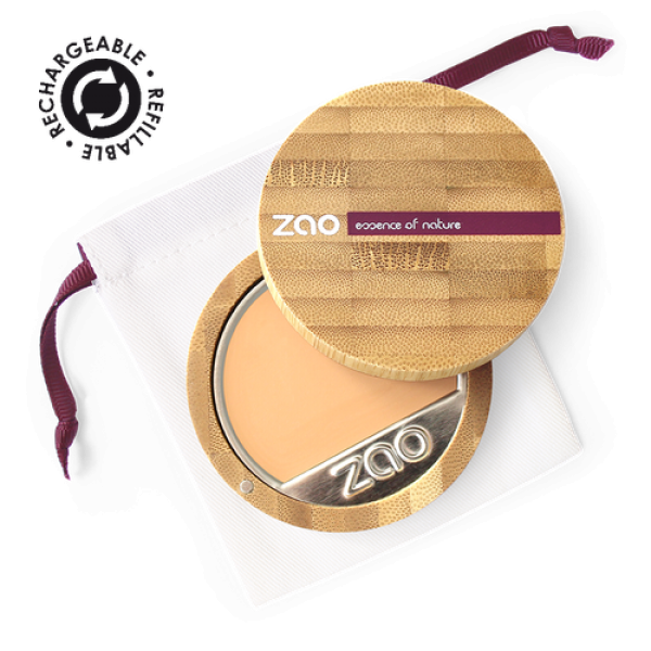 Fond de teint compact et sa recharge - Zao Make-Up