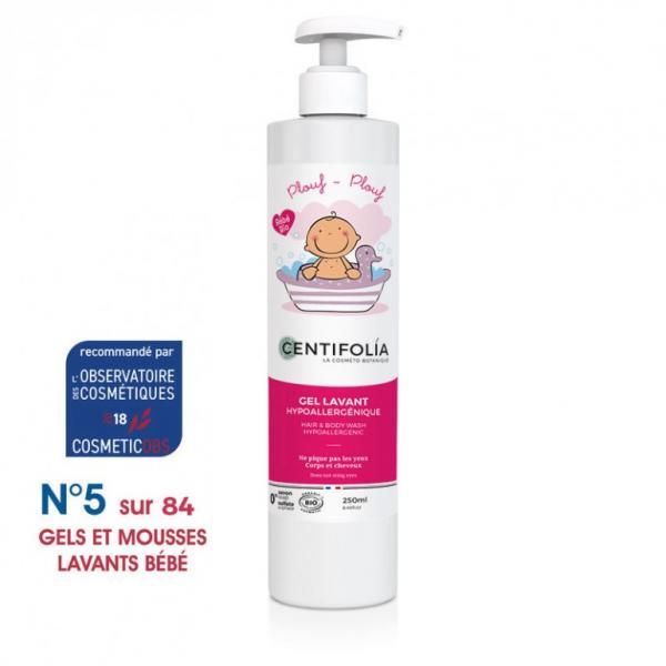 Gel lavant corps et cheveux bébé - Centifolia