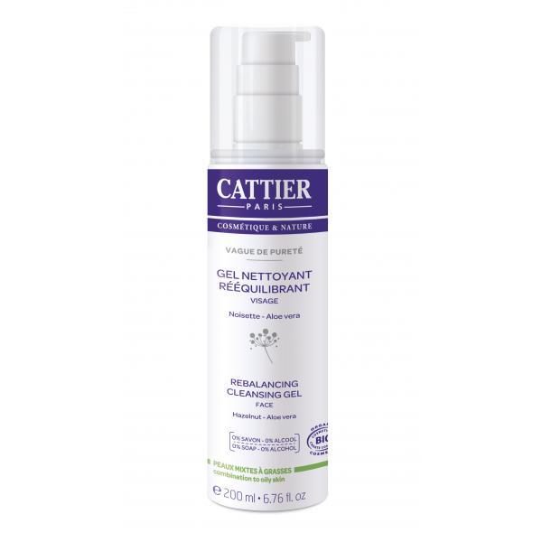 Gel nettoyant rééquilibrant - Cattier