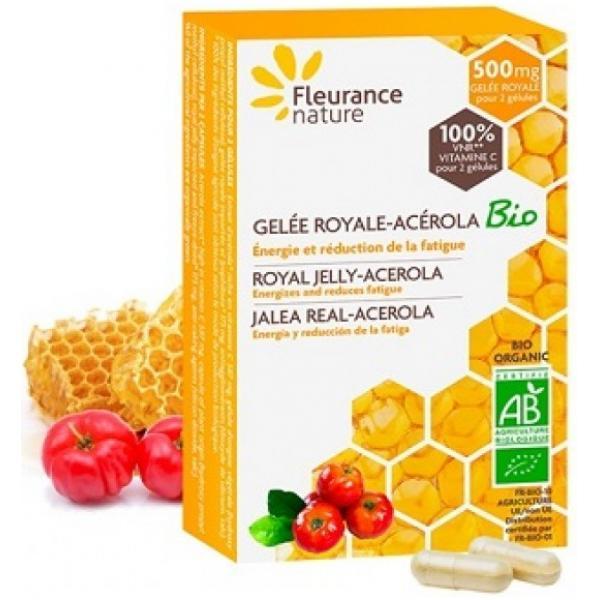 Gelée royale - Acérola lyophilisé Bio - Fleurance Nature