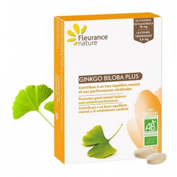 Ginkgo biloba PLUS Bio - Fleurance Nature