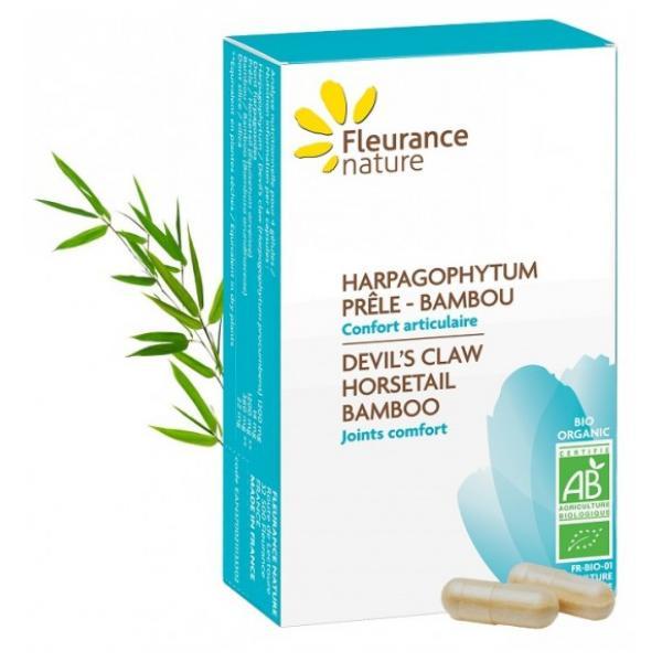 Harpagophytum - Prêle - Bambou Bio - Fleurance Nature