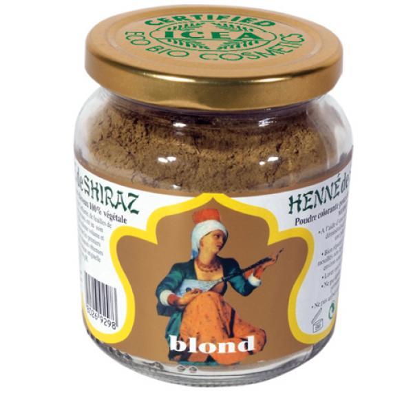 Henné de Shiraz Blond Certifié ICEA