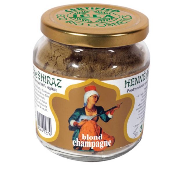 Henné de Shiraz Blond Champagne Certifié ICEA