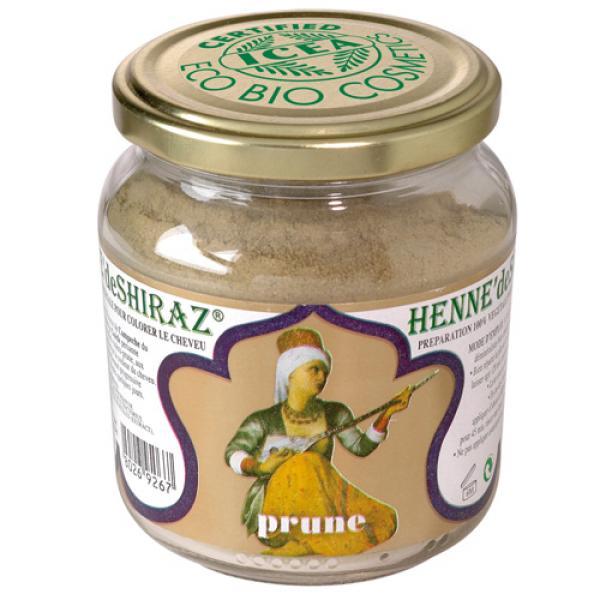 Henné de Shiraz Prune Certifié ICEA