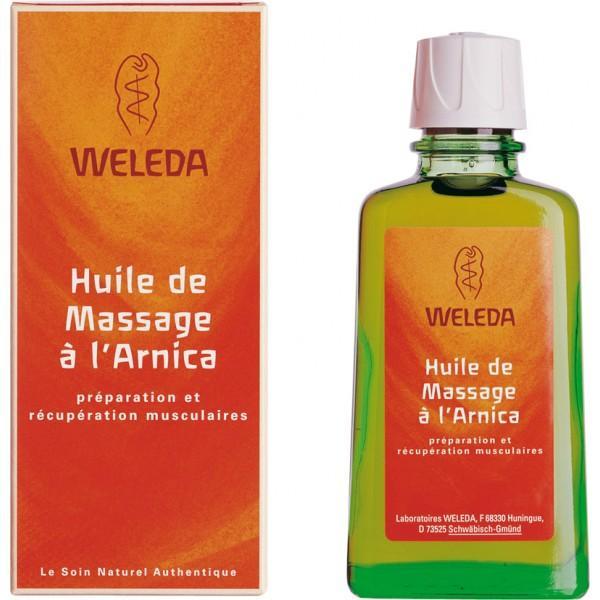 Huile de Massage à l'Arnica 100ml-Weleda