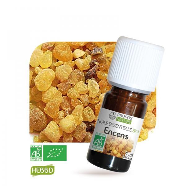 Huile essentielle d'Encens Bio 100% pure et naturelle-Propos'Nature