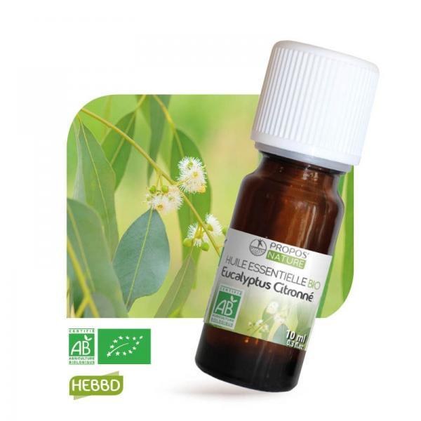 Huile essentielle d'Eucalyptus Citronné Bio 100% pure et naturelle-Propos'Nature