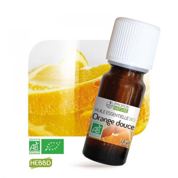 Huile essentielle d'Orange douce Bio 100% pure et naturelle-Propos'Nature