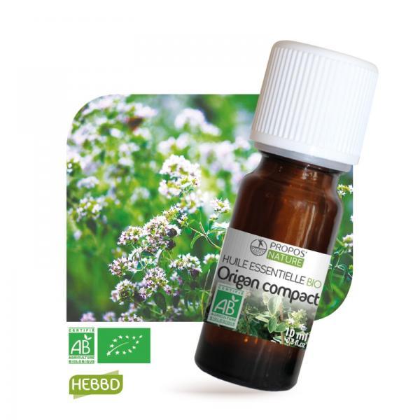 Huile essentielle d'Origan compact Bio 100% pure et naturelle-Propos'Nature
