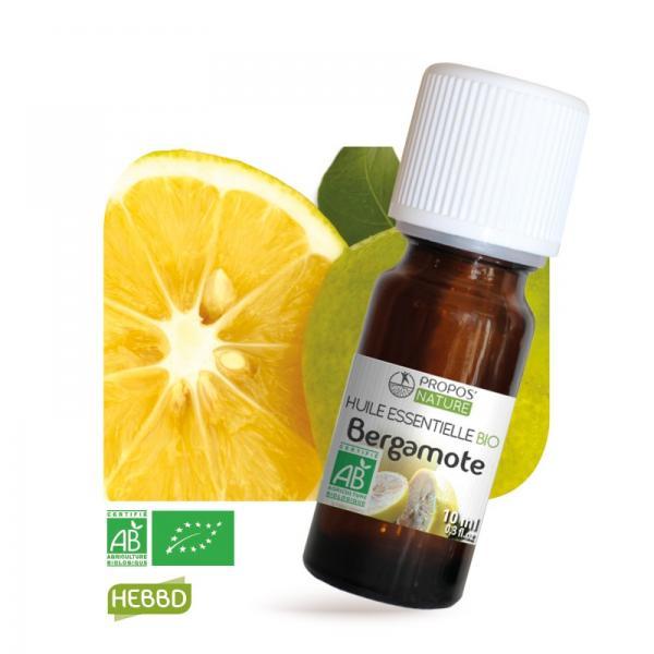 Huile essentielle de Bergamote Bio 100% pure et naturelle-Propos'Nature