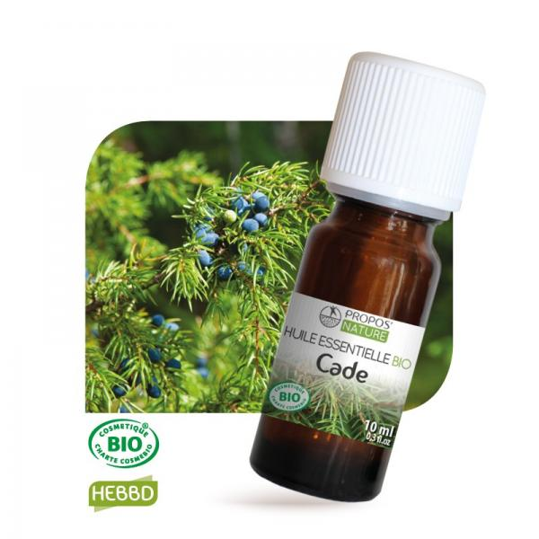 Huile essentielle de Cade Bio 100% pure et naturelle-Propos'Nature